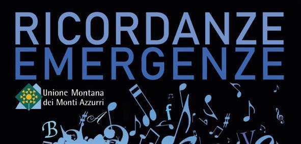 "1° ""Ricordanze/Emergenze Festival"" sui Monti Azzurri"