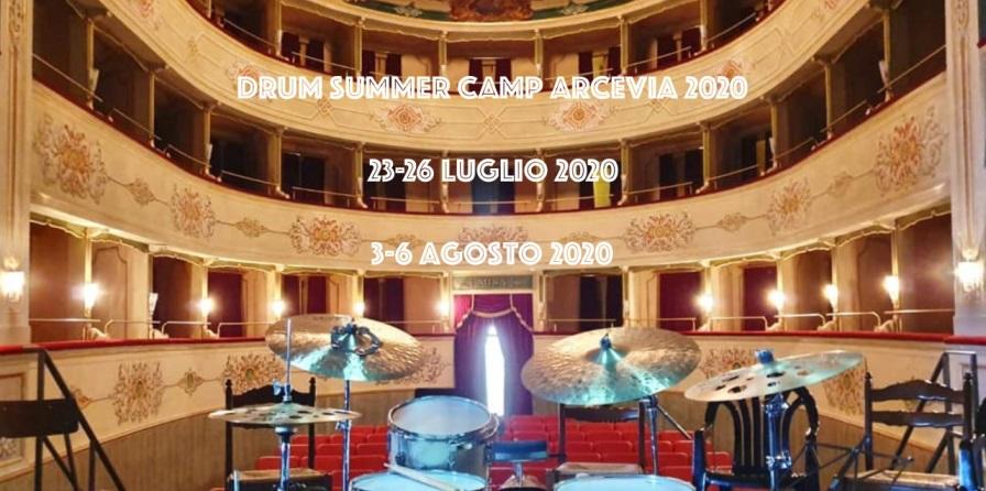 Drum Summer Camp 2020 ad ARCEVIA con Dario Esposito