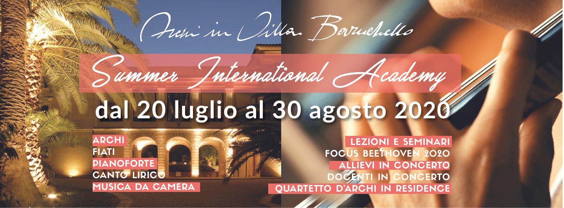 """Torna il Festival """"Archi in Villa Baruchello"""" a Porto Sant'Elpidio"""