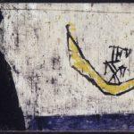 05 Osvaldo Licini_Marina (La barca degli amanti)_1945_olio su carta_collezione privata_Milano Musiculturaonline