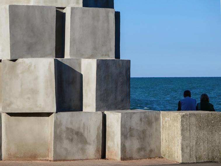 """Il fotografo Franco Cecchini racconta """"La dimensione dell'azzurro"""""""