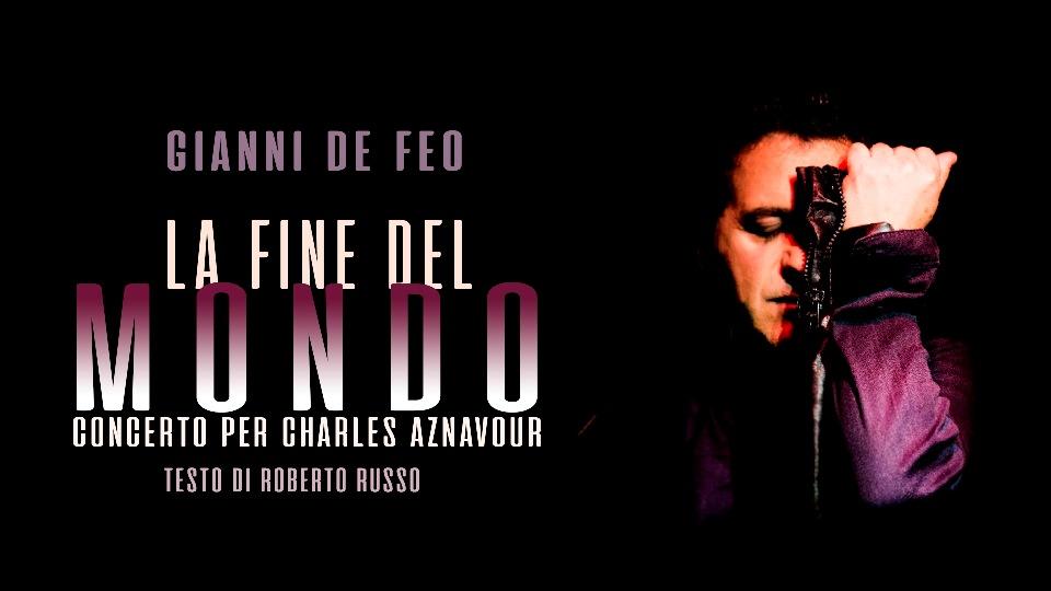 """""""La fine del mondo"""" con Gianni De Feo al Calvi Festival"""