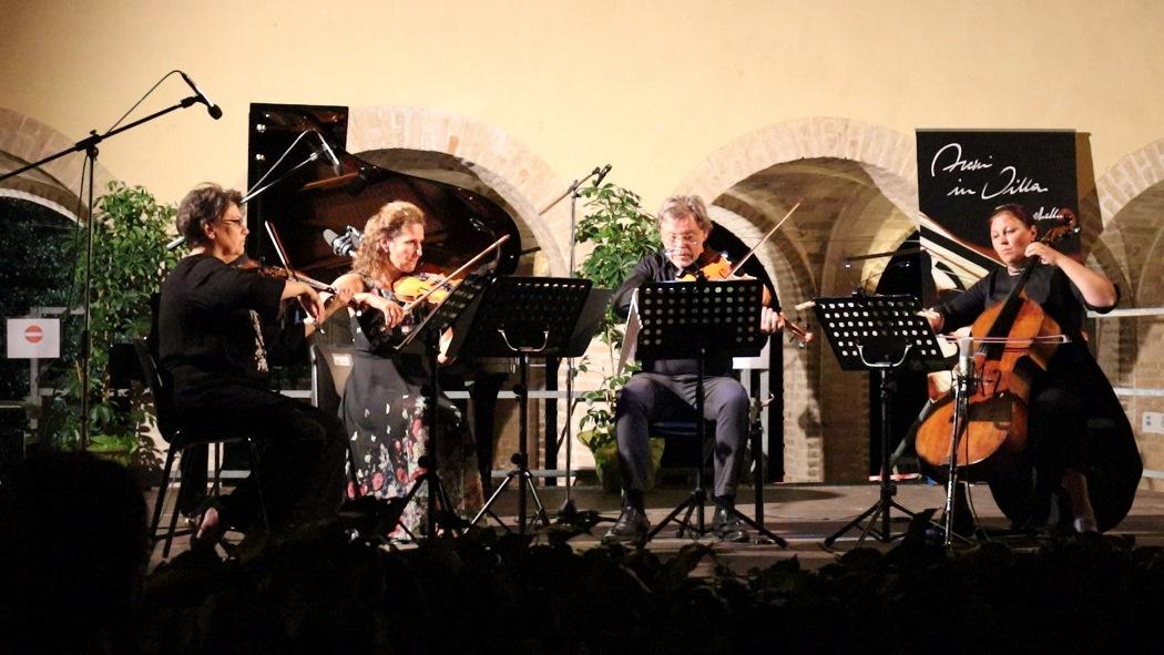 """Concluso lo splendido Festival """"Archi in Villa Baruchello"""""""