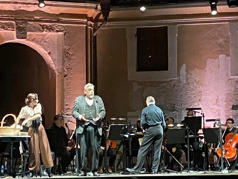 """""""PÉPITO"""" di Offenbach alla Mole Vanvitelliana"""