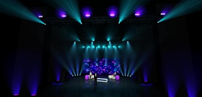 Da novembre un teatro di posa nella sala Petrassi dell'Auditorium Parco della Musica di Roma