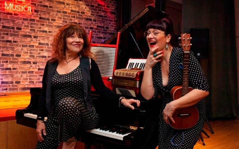 Nostra intervista al duo jazz & blues The Jolly Shoes Sisters