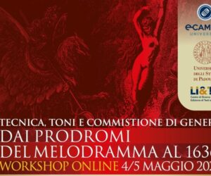 """Workshop on line (4-5-maggio): """"Dai prodromi del melodramma al 1636"""""""