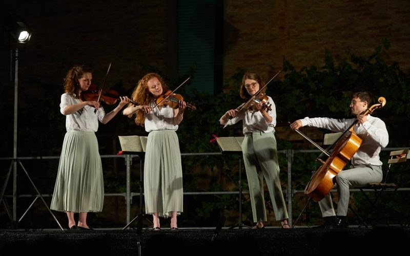 Il concerto per l'Appassionata del Belinfante Quartet