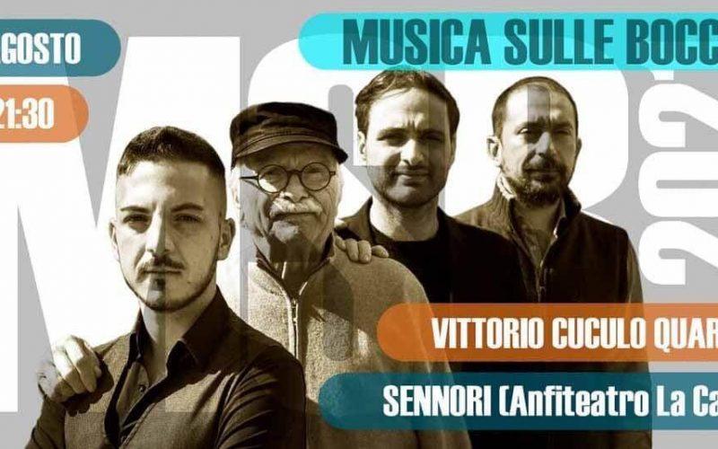 """Vittorio Cuculo Quartet al festival """"Musica sulle Bocche"""""""